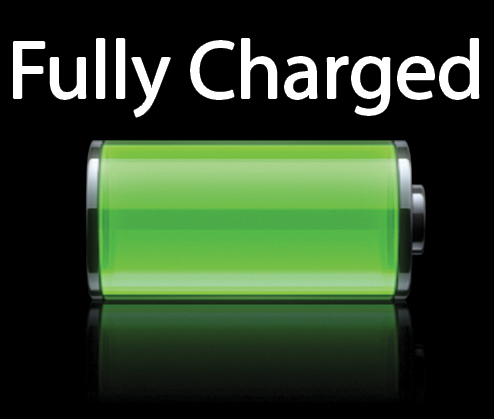 Battery Fully Charged