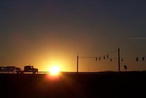 Sun Rise on Solar Power